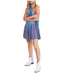 Free People Pleated Love Mini Dress